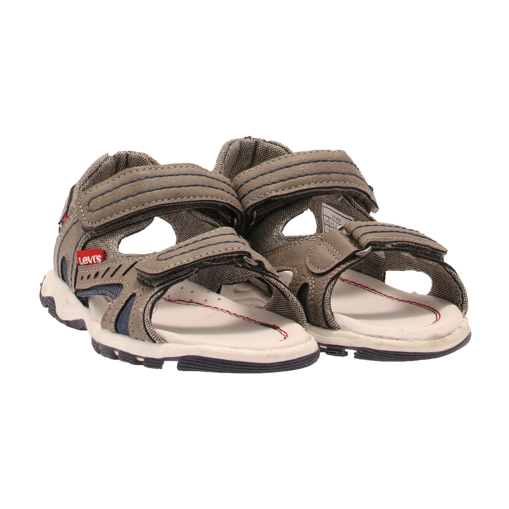 b42a6d2ae35 Levi's Kids - Costamesa Taupe Sandal med borrelås - Trapes Sko